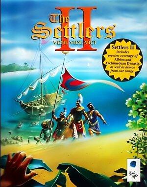 The Settlers II: Veni, Vidi, Vici DOS front cover