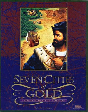 Seven Cities of Gold: Commemorative Edition DOS front cover