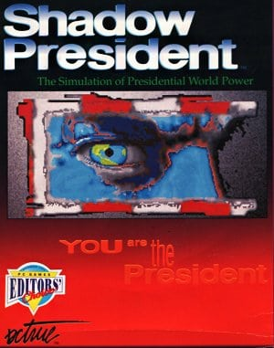 Shadow President DOS front cover
