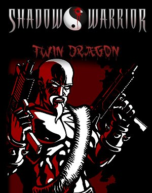Shadow Warrior: Twin Dragon DOS front cover
