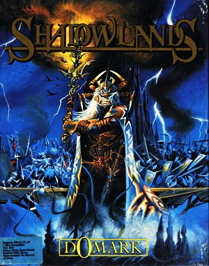 Shadowlands DOS front cover