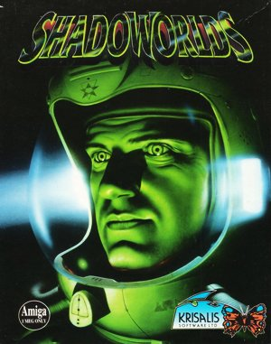 Shadoworlds DOS front cover
