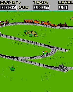 Shortline Railroad DOS front cover