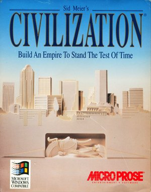 Sid Meier's Civilization (Win 3.x) DOS front cover