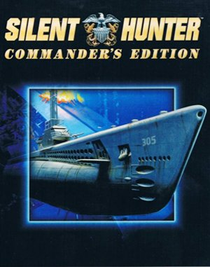 Silent Hunter: Commander's Edition DOS front cover