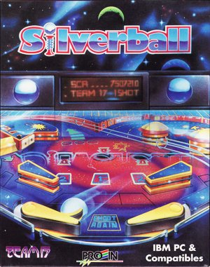 Silverball DOS front cover