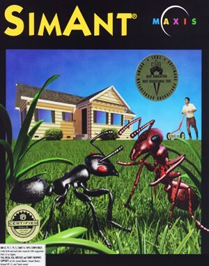 SimAnt – The Electronic Ant Colony DOS front cover
