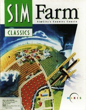Sim Farm DOS front cover