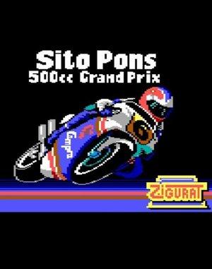 Sito Pons 500cc Grand Prix DOS front cover