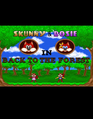 Skunny: Back to the Forest DOS front cover