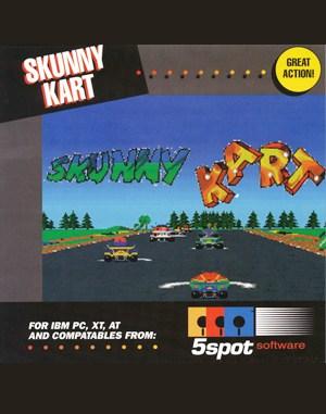 Skunny Kart DOS front cover