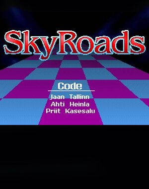 SkyRoads DOS front cover