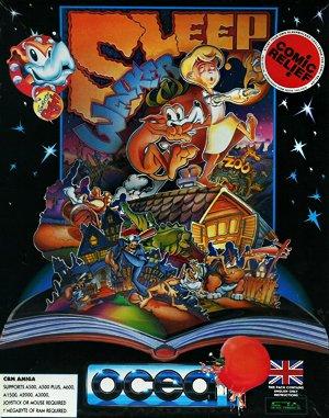Sleepwalker DOS front cover