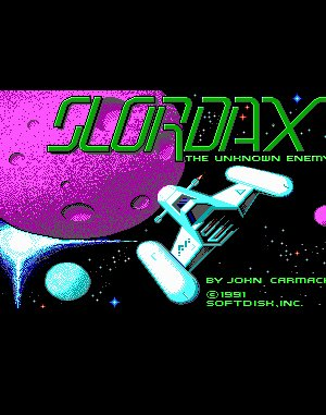 Slordax: The Unknown Enemy DOS front cover