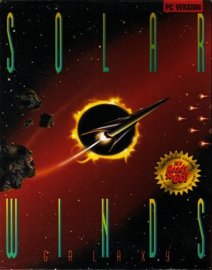 Solar Winds: Galaxy DOS front cover