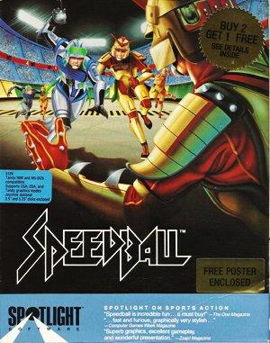 Speedball DOS front cover