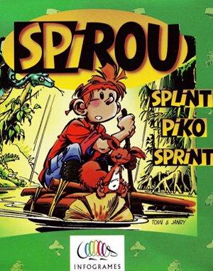Spirou DOS front cover