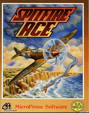 Spitfire Ace DOS front cover