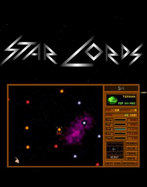 Star Lords DOS front cover