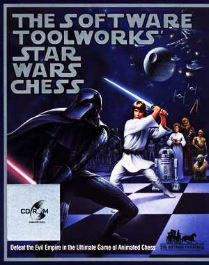 Star Wars Chess DOS front cover