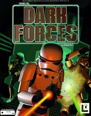 Star Wars: Dark Forces DOS front cover