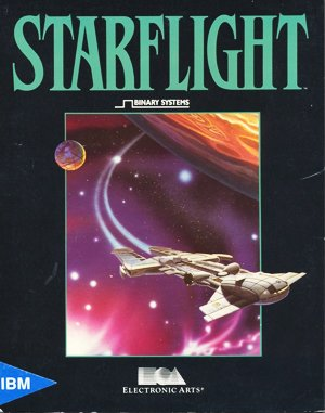 Starflight DOS front cover