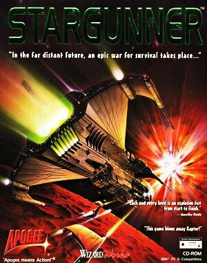 Stargunner DOS front cover