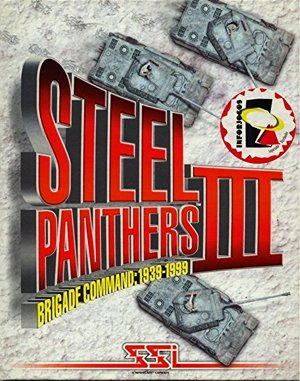 Steel Panthers III: Brigade Command – 1939-1999 DOS front cover
