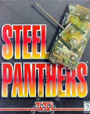 Steel Panthers DOS front cover