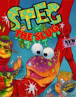 Steg the Slug DOS front cover