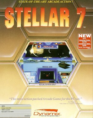 Stellar 7 DOS front cover
