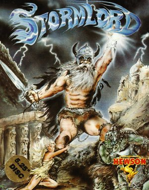 Stormlord DOS front cover