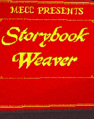 Storybook Weaver DOS front cover