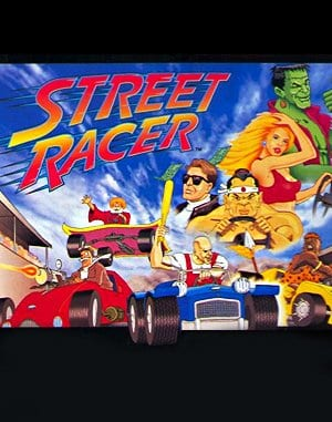 Street Racer DOS front cover