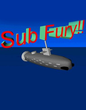 Sub Fury DOS front cover