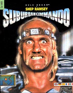 Suburban Commando DOS front cover