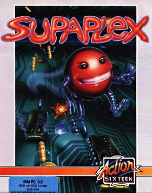 Supaplex DOS front cover