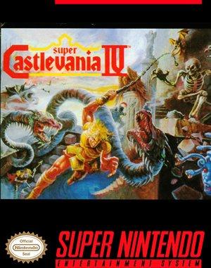 Super Castlevania IV SNES front cover
