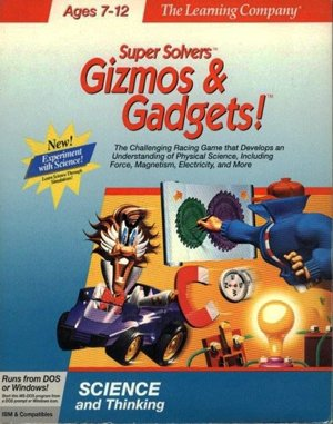 Super Solvers: Gizmos & Gadgets! DOS front cover