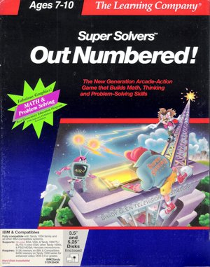 Super Solvers: OutNumbered! DOS front cover