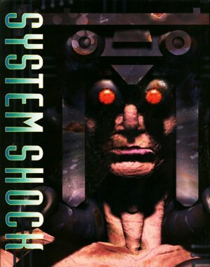 System Shock DOS front cover