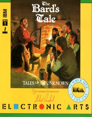 Tales of the Unknown: Volume I – The Bard's Tale DOS front cover