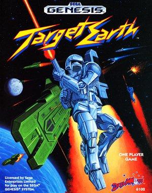 Target Earth Sega Genesis front cover