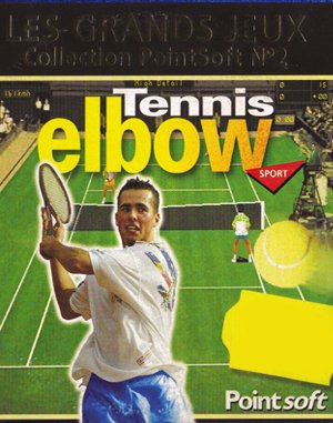 Tennis Elbow DOS front cover