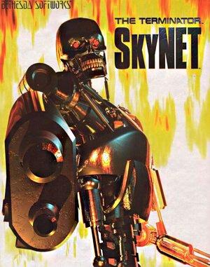 The Terminator: SkyNET DOS front cover