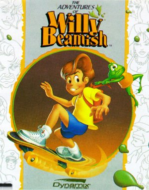 The Adventures of Willy Beamish DOS front cover