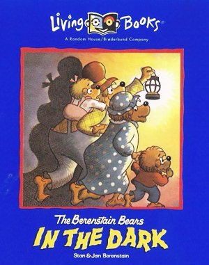 The Berenstain Bears in the Dark DOS front cover