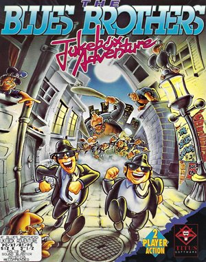 The Blues Brothers: Jukebox Adventure DOS front cover