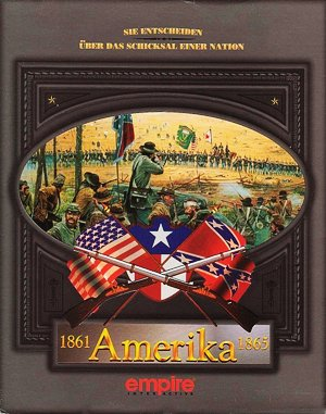 The Civil War DOS front cover