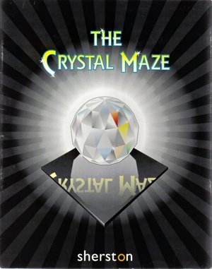 The Crystal Maze DOS front cover